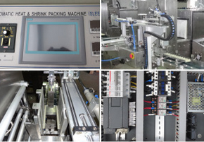 Automatic Sleeve Sealer and Shrink Wrapper