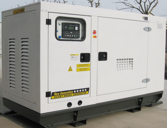 Silent Diesel Generator Set / New Design / Low Noise