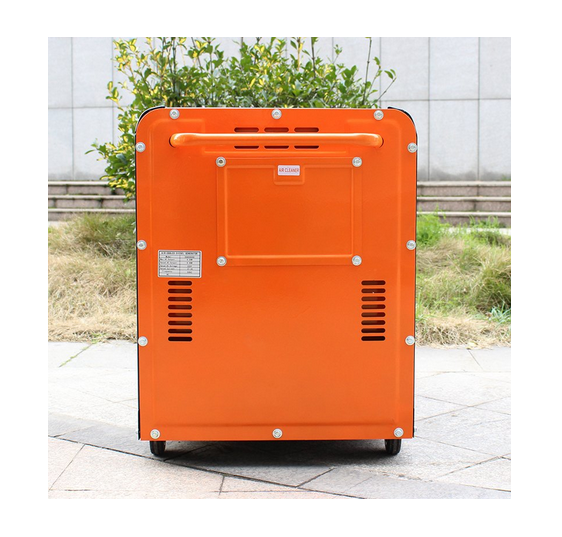 Bison (China) BS6500dse 5kw 5kVA 5000W Power Value Diesel Generator Fuel Consumption Per Hour for Home