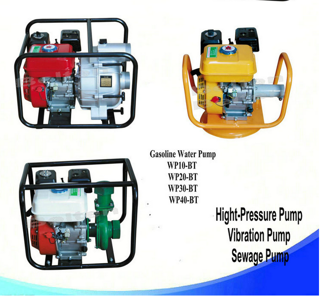 1.5 Inch 4-Stroke Gasoline Water Pump