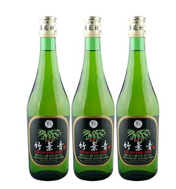 Chinese distilled liquor green bamboo leaf liquor Health wine