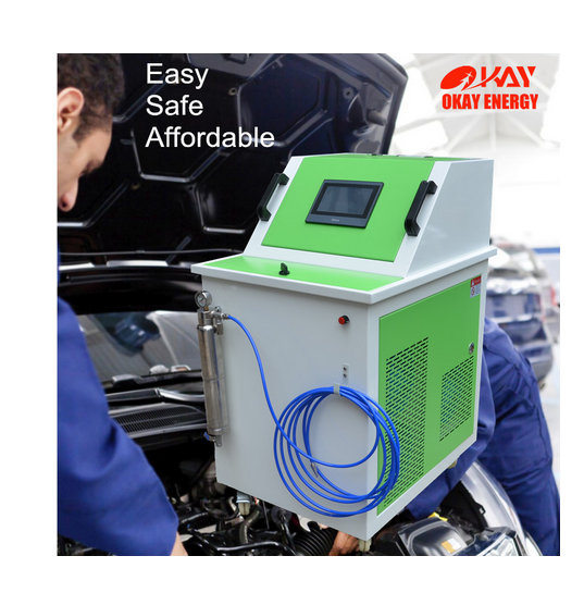 Okay Energy Mobile Car Care Product Engine Cleaner Hho Engine Carbon Cleaning Machine