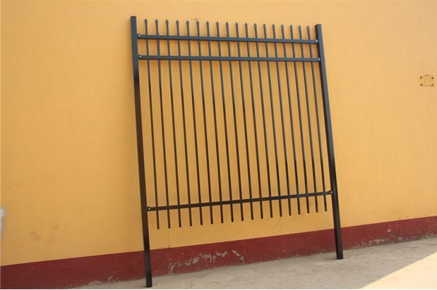 2000mm*2400mm Ornamental Tubular Garrison Fencing for Australia Market