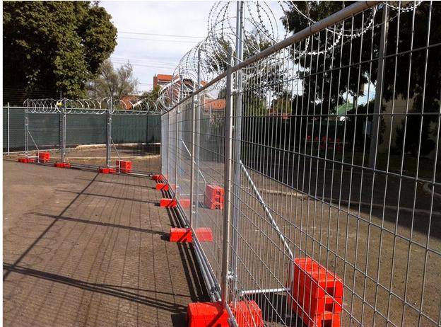 Popular Style Galvanized Steel Cheap Temporary Fence