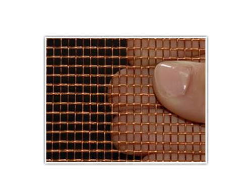 Brass Woven Wire Mesh   in Copper Material