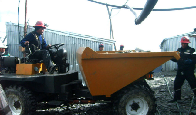 3 Ton Dumper with Deutz Diesel Engine Power