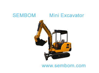 Multifunction Mini Excavator 2.2ton (SE22) for Farming, Civic Building, Gardening