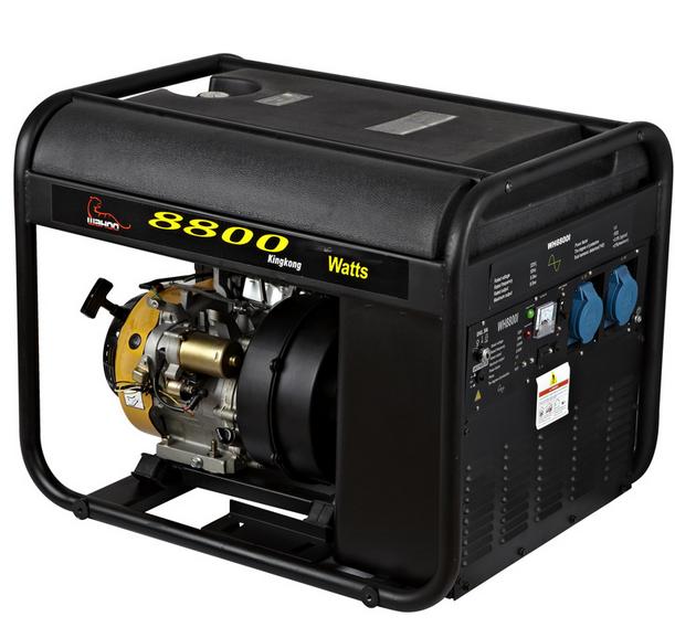 CE 8kw Plastic Fuel Tank Inverter Generator Gasoline (WH8800I)
