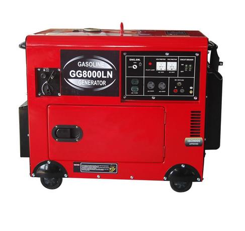 7 kVA Silent Gasoline Generator (GG8000LN)