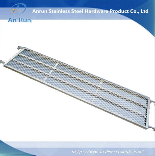 Scaffolding Hook Plank Made of Cold Bened Perforated Metal
