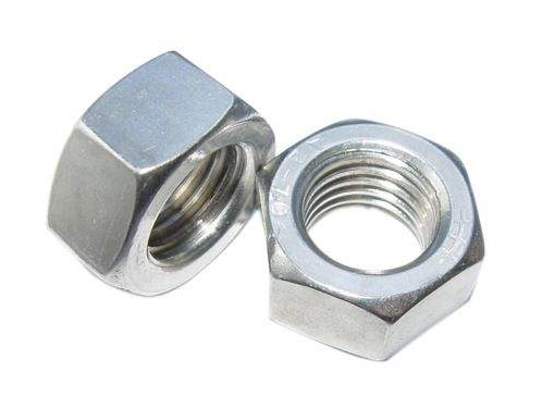 Hot Sale High Quality White Zinc Plated Din934 With Hex Bolt Iso4032