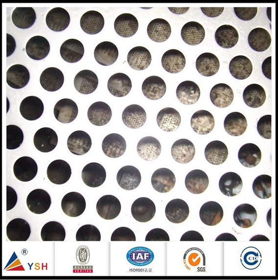 Hexagonal Perforated Metal Mesh From Direct Factory