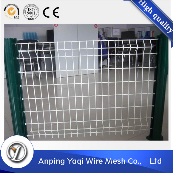 over 15 years chinese supplier PVC spraying bending metal 40x60mm/50x50mm/60x60mm welded wire mesh fence panels