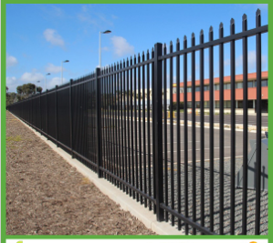 Powder Coated 2.1m X2.4m Spear Top Security Fence for Australia
