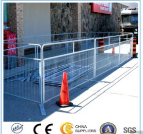 Temporary Fence Used for Barrier