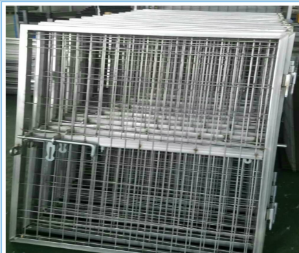 Wholesale Iron Fence Welded Fence Gate Frame, Metal Fencing Gate