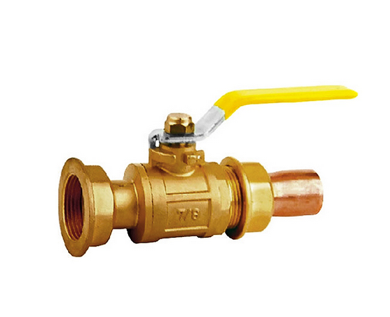 Brass Gas Valve Hot Sale (VG-A64021)