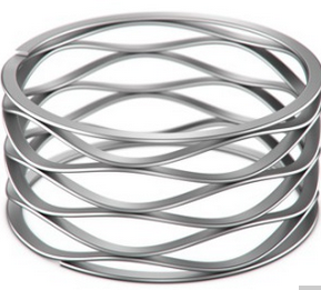 Custom Crest-to-Crest Wave Springs with Shim Ends buying leads