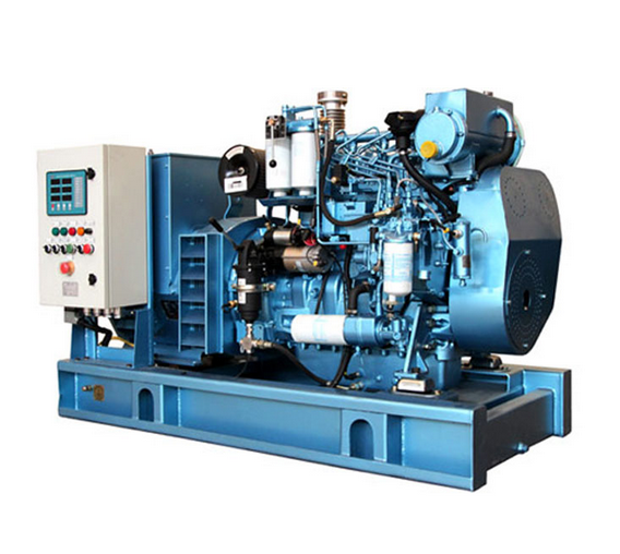 120kw Electric Start, Water Cooled Generator Set for Marine buying leads