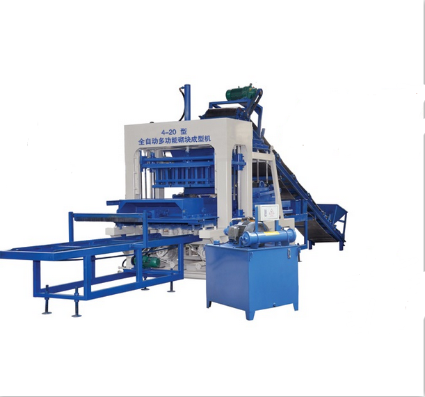 Fully Automatic Construction Brick Machine