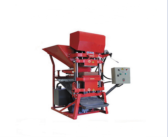 Eco2700 Interlocking Soil Brick Machine