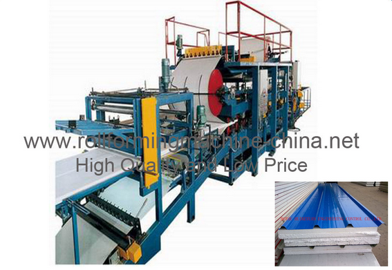Sandwich Roll Forming Machine (HKY)