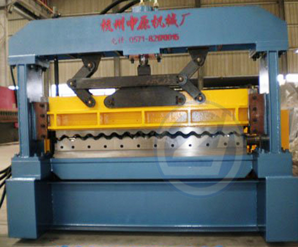 ISO Steel Corrugated Cold Roll Forming Equipment