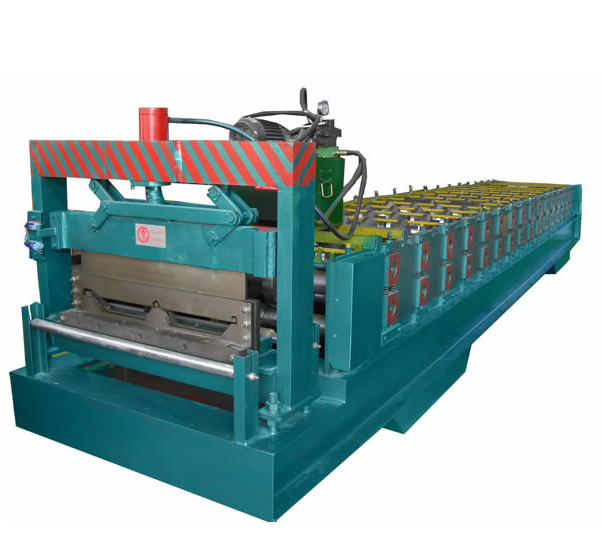 Joint-Hidden Roofing Sheet Roll Forming Machine Joint-Hidden Roofing Machine Roof Panel Machine Sheet Making Machine