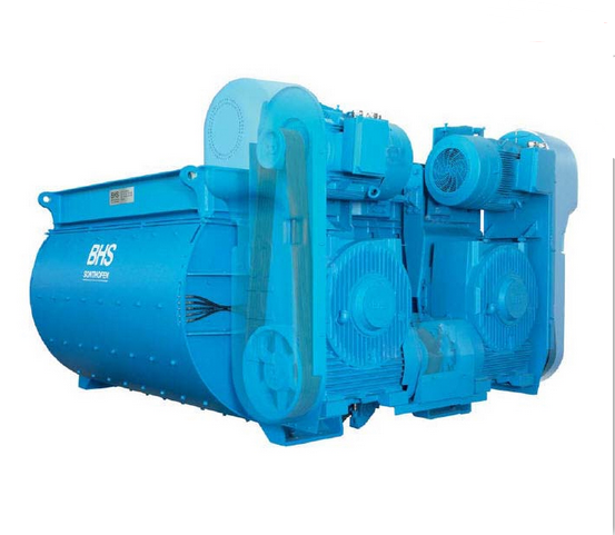 Concrete Machinery Twin-Shaft Concrete Mixer