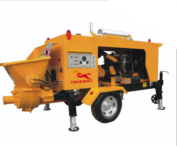 High Reliable Quality Trailer Concrete Pump