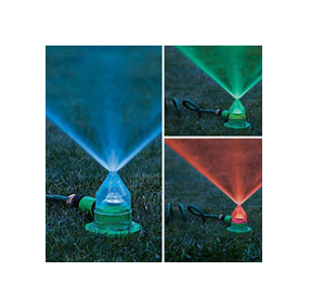LED Sprinkler for Garden Lawn Irrigation 7 Color Changing (HT1040)