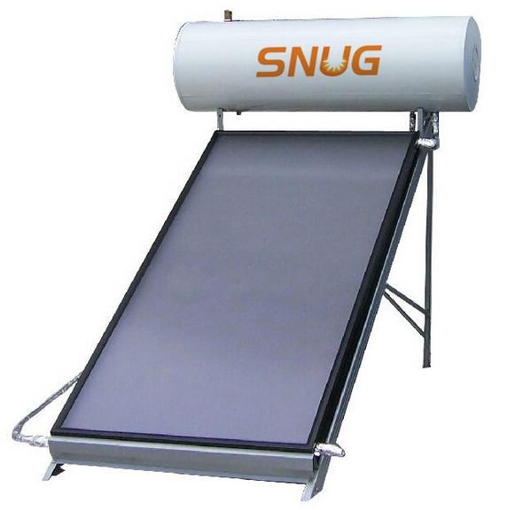 Flat Solar Collector Heater, CE, 80L