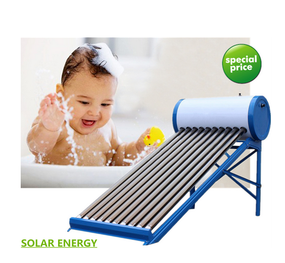 Non Pressure Solar Collector Solar Energy System Hot Water Tank Vacuum Tube Solar Water Heater