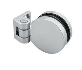 90 Degree Round Shape Brass Shower Bifold Hinge