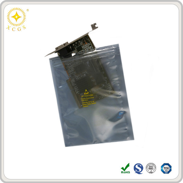 Static Protection Electrostatic Discharge Shielding Zip Lock Bag OEM For Static Sensitive Electronics