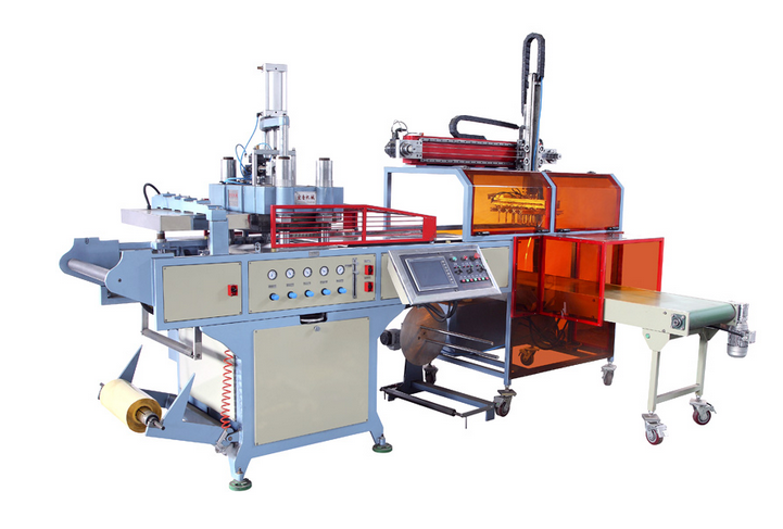 Big Forming Area Plastic Thermoforming Machine