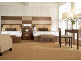 Double Room Set Hotel Furniture (ALX-022)