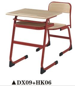 School Furniture/New Design School Desk and Chair (DX09+HK06)