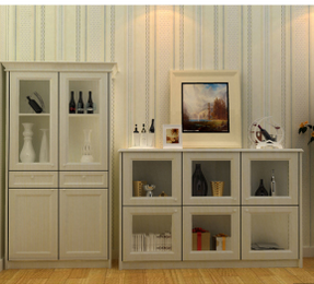 PVC Vacuum Wine Cabinet for Dining Room (FY1002)