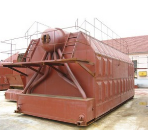 Szl Series Wood Fired Steam Boiler with High Efficiency