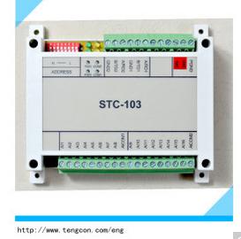 Industrial Modbus RTU RS485/RS232 Io Module (STC-103)