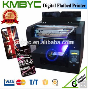 A3 Size Economical UV LED Mobile Cover Printer