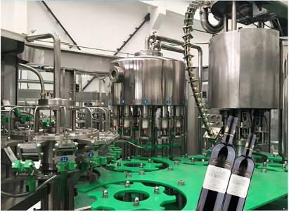 Glass Bottle Filling Capping Machine for Wine/Liquor/Whisky/Vodka