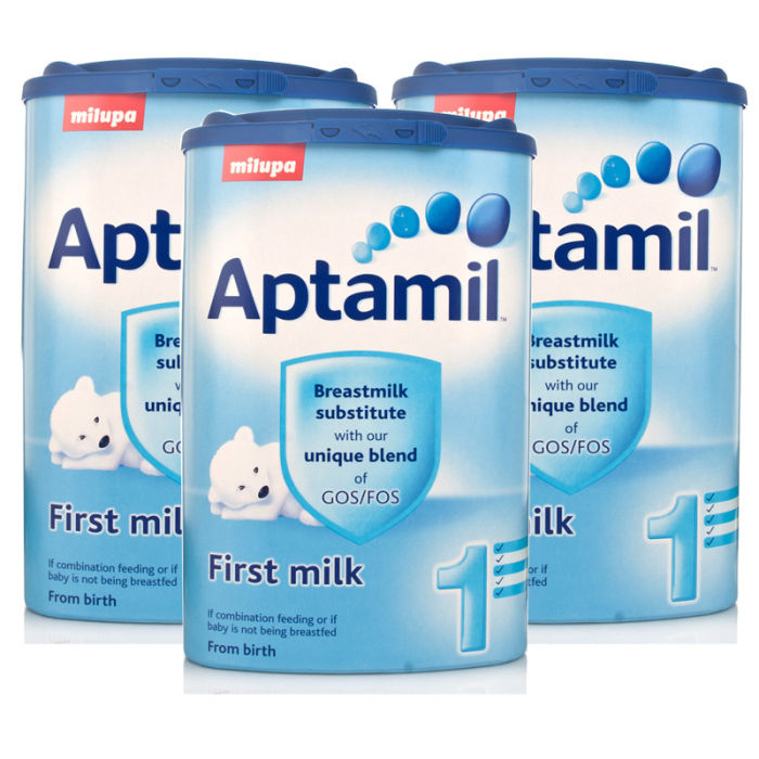 Good Quality APTAMIL MILUPA INFANT BABY POWDER ( Aptamil Pre mit Pronutra Anfangsmilch 800g ) Available