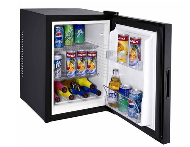 Thermoelectric Black Automatic Office Minibar Fridge