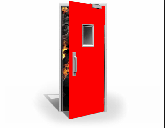 Steel Fire Door Commercial Residential Fire Rated Doors
