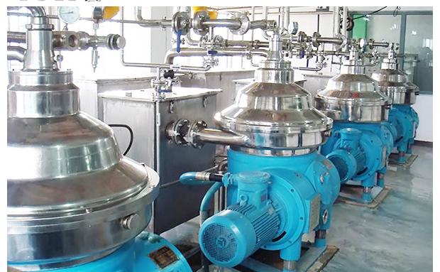 Disc Stack Centrifuge for Chemical Separation