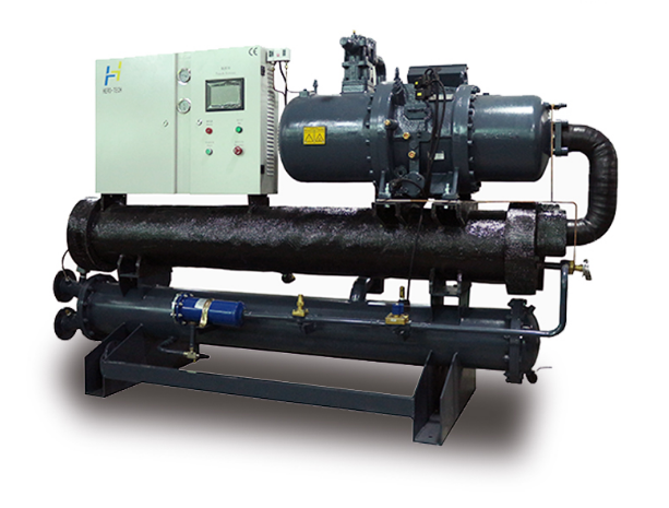 40HP to 200HP Water Cooled Screw Type Chiller