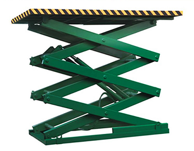 Basement / Garage Used Stationary Hydraulic Cargo Lifting Equipment for Heavy Car Lifting