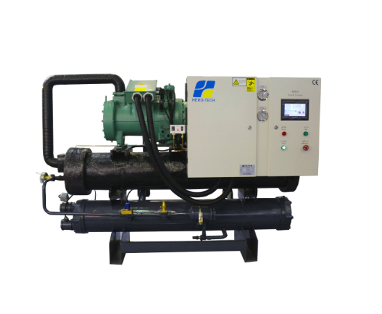 Water Cooled Screw Compressor Glycol Chiller